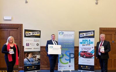 Mid & East Antrim PCSP support New Driver Safety Ambassadors