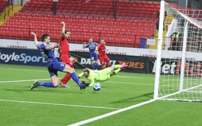 Ends all level at Mourneview and Lecky grabs a hat-trick at Inver Park