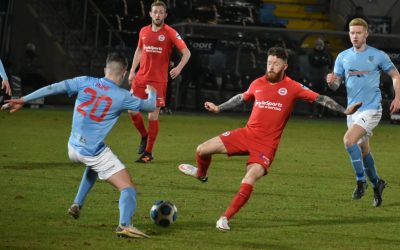 It's a point apiece in the Shane Hill derby encounter
